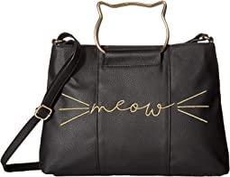 Meow Ring Handle Crossbody