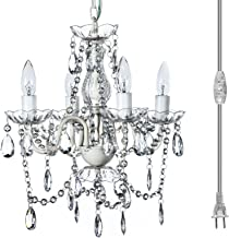 The Original Gypsy Color 4 Light Plug-in Pendant Chandelier for H17.5