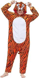 Yutown New Adult Animal Costume Onesie Unicorn Halloween Cosplay Pajama Zipper