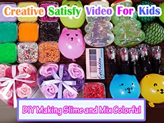 DIGOOD Fluffy Slime Toy Stress 60//120//200ml Strawberry Cloud Cotton Mud Soft Foaming Slime Toy