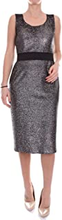 BOUTIQUE MOSCHINO Luxury Fashion Womens A043461181610 Silver Dress | Season Outlet