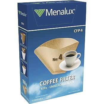 Original Dimensioni 1x4 1 dose di anticalcare inclusa 80 filtri per caff/é Bianco Per caffettiera a filtri Melitta