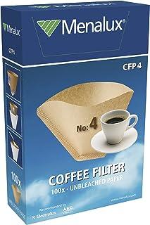 Menalux CFP4 Filtre Papier à Café 15 Tasses Maximum