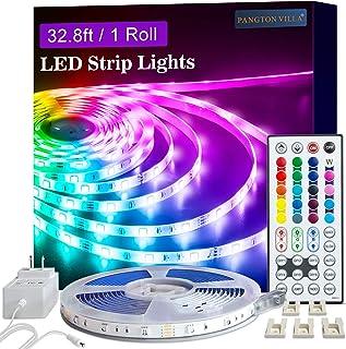 Led Strip Lights, 32.8ft 1 Roll RGB 5050 Led Lights for Bedroom, Room, Kitchen, Home..