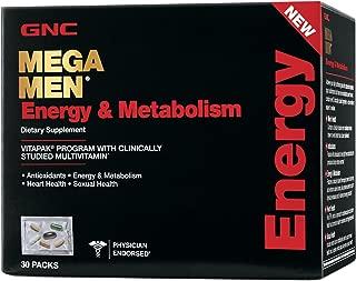 GNC Mega Men Energy Metabolism - 30 Packs