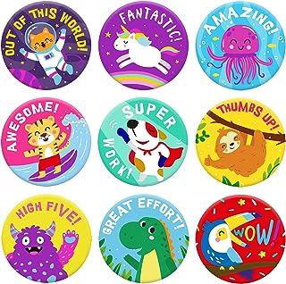 Sponsored Ad - Sweetzer & Orange Reward Stickers for Teachers. 1008 Stickers for Kids in 9 Designs. 1 Inch School Stickers...