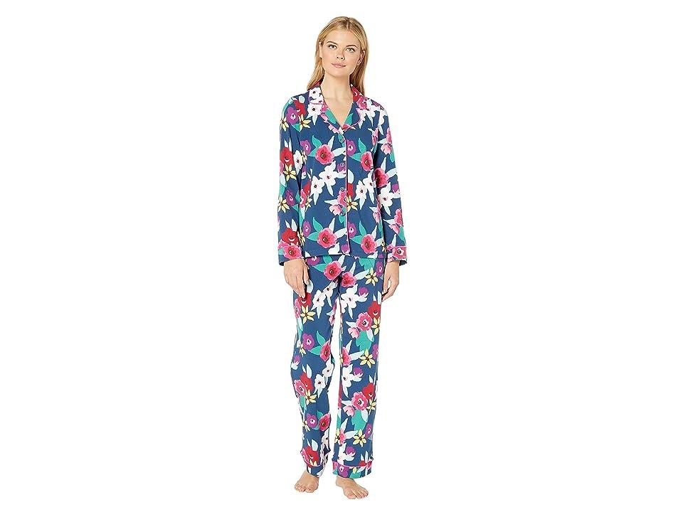 BedHead Pajamas Long Sleeve Classic Notch Collar Pajama Set (Painter