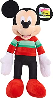 Disney 15176 Mickey Mouse Holiday 2018 Plush, Multicolor