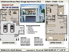 Amazon Com 2 Bedroom House Plans Kindle Store