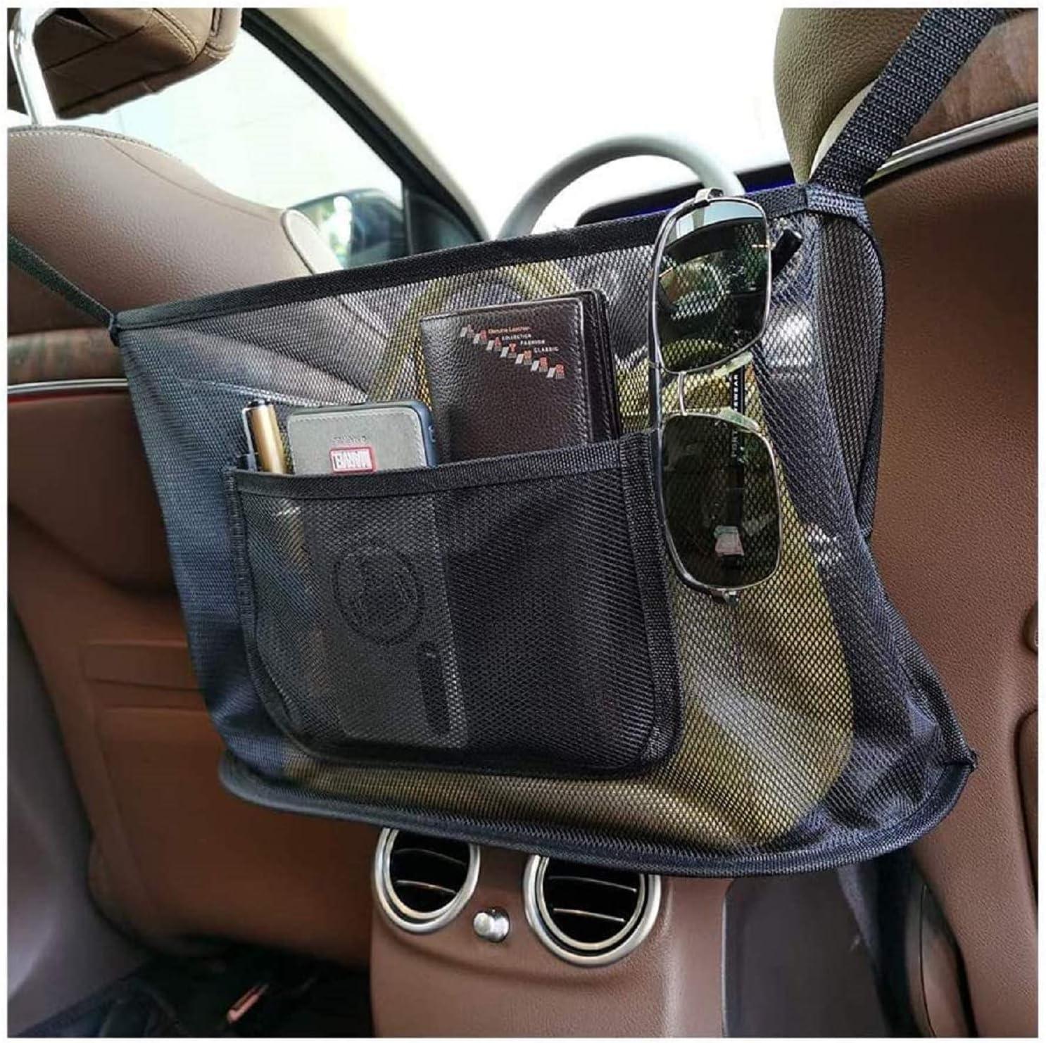 Car Net Pocket Handbag Holder Animer and price quality assurance revision Backseat Seat Rear P Organizer
