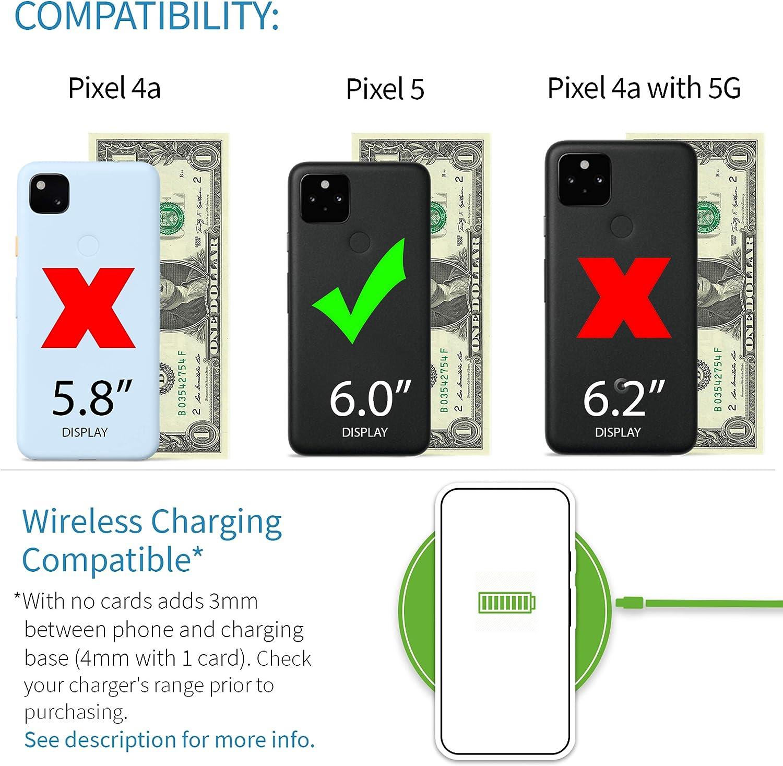 Dockem Google Pixel 5 Luxe M2T Wallet Case: Built-in Invisible ...