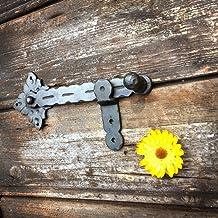 Antikas - Vliegenreep, deurgrendel, deurgrendel, voor tuinpoort, sprei, vergrendeling, poort, valgrendel.