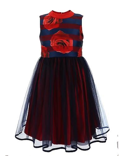 fdcc1c9f5d71 Rose Print Dress  Amazon.com