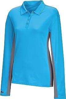 Fila Golf Women's Newport Long Sleeve Polo Shirt