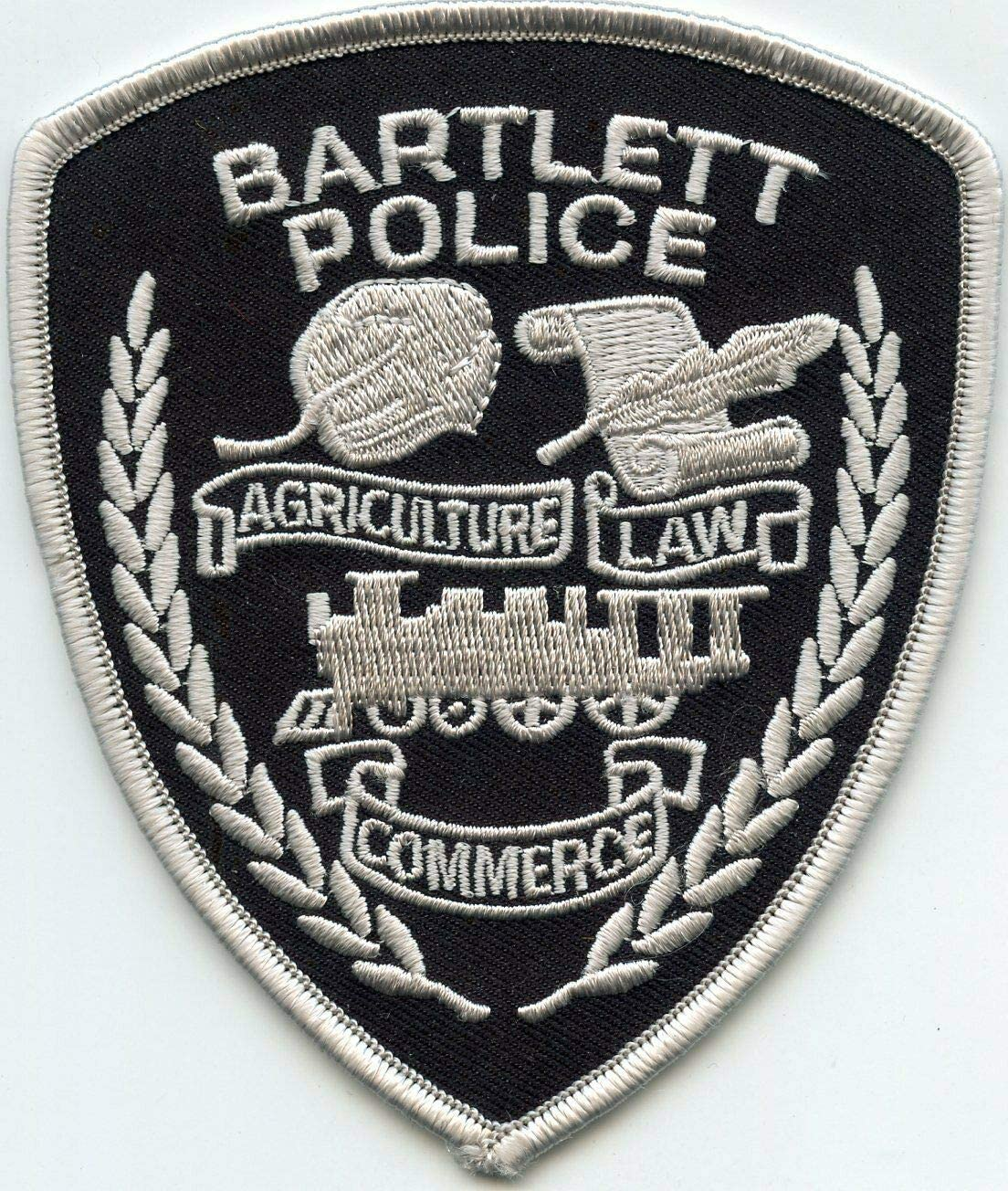 by Chicago Mall SFI Bartlett Tennessee TN Train Police Max 73% OFF Patch Subdued