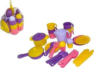 "Polesie Polesie54791 ""Nasten'ka"" Toy Kitchen Set for Six"