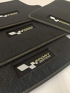 Accesorionline Alfombrillas Velour Premium a Medida para Renault Megane Todos los Modelos alfombras máxima Calidad esterillas Sport (Megane III 2009-2016 3/5p)