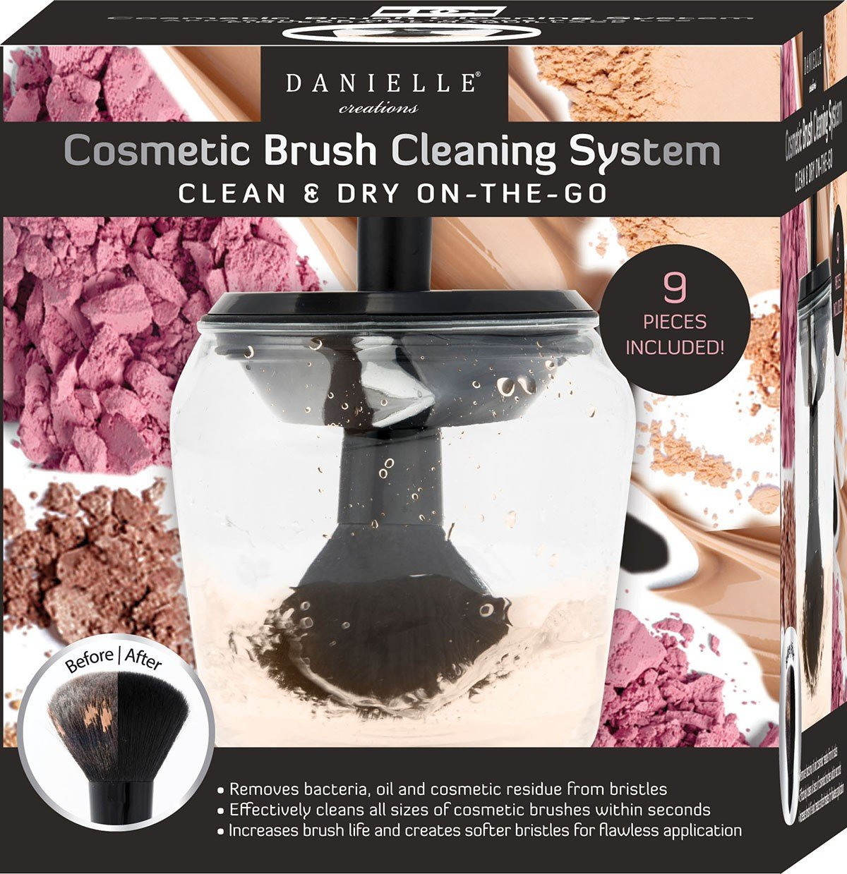 Danielle Creations Brush 期間限定送料無料 Cleaning System The Clean Go On Dy 毎日激安特売で 営業中です