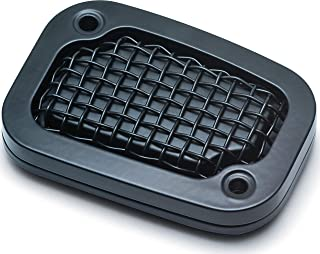 Kuryakyn 6533 Motorcycle Accent Accessory: Mesh Clutch Master Cylinder Cover for 2014-16 Harley-Davidson Touring Motorcycles, Satin Black