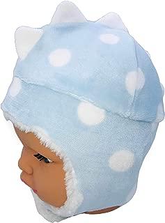 Bebemod Kulaklıklı Ejderha Polar Bebek Şapka Bere 0-18 Ay