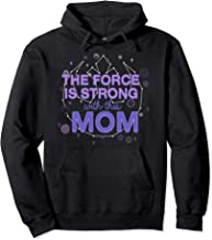 the force is strong with this mom hoodie