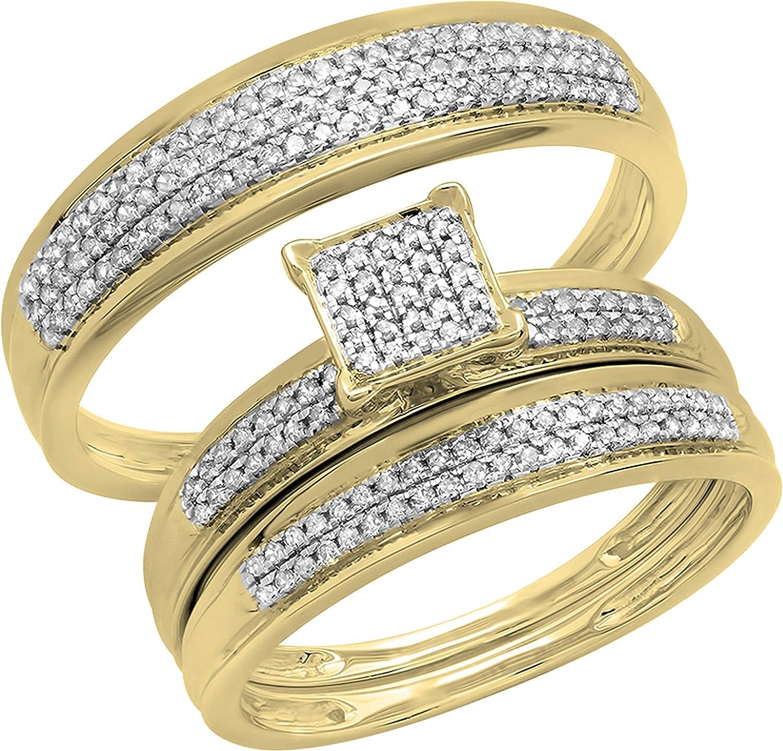 Dazzlingrock Collection 0.50 Carat Tucson Mall ctw Round Diamond Limited price sale Men White