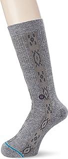 Stance Pilot Peak Crew Socks in Grey