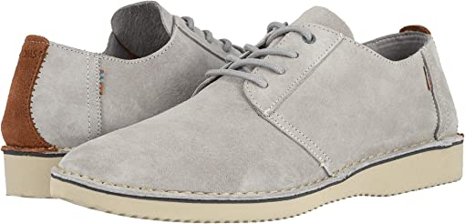 Drizzle Grey Pig Suede/Stitch Out