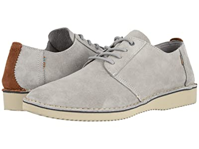 TOMS Preston (Drizzle Grey Pig Suede/Stitch Out) Men