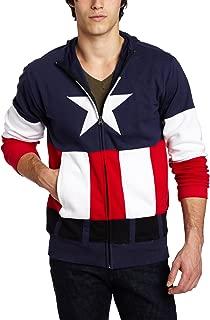 Captain America Men's Fleece Hoodie