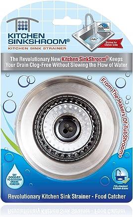 SinkShroom Kitchen SinkShroom Revolutionary Clog-Free Stainless Steel Sink Strainer, KSS682