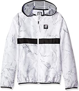 ac74d07a4c77 adidas Originals Men s Skateboarding Marble Blackbird Packable Jacket