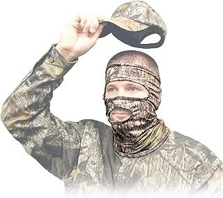 Primos Stretch-Fit 3/4 Mask Face Mask - Mossy Oak New Break-Up