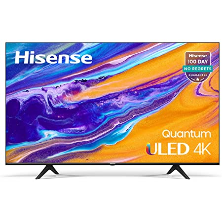 Hisense ULED 4K Premium 55U6G Quantum Dot QLED Series 55-Inch Android Smart TV with Alexa Compatibility (2021 Model)