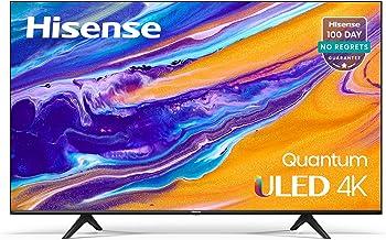 Hisense ULED 4K Premium 50U6G Quantum Dot QLED Series 50-Inch Android Smart TV with Alexa Compatibility (2021 Model)