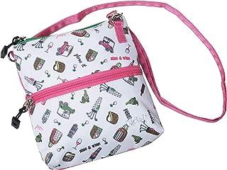 Glove It Golf Zip Bag - سازنده Crossbody با 2 جیب ، 24 عدد بند جداشونده ، پلی استر ، کیف لوازم جانبی گلف سبک زنانه
