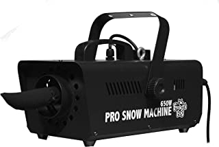 Froggys Fog - Pro Snow Machine - Completely Variable Output Flake Size - You Choose a Flurry, a Blizzard or Anything in Between