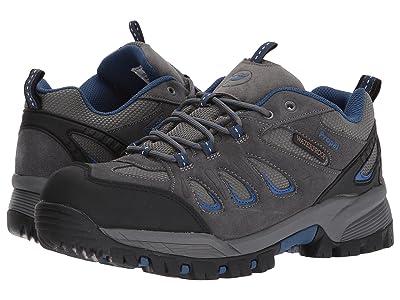Propet Ridge Walker Low (Grey/Blue) Men