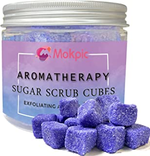 MOKPIC Body Scrubs for Women Exfoliation- Sugar Scrub Cubes, Exfoliating Body Scrub Exfoliator Moisturizing, Gifts for Wom...