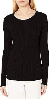 Daily Ritual Amazon Brand Women's Ultra-Soft Rib Knit Sweater