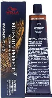 Wella Koleston Perfect Permanent Creme Haircolor - 6 73 Dark Blonde-Brown Gold By Wella For Unisex - 2 Oz 2 oz