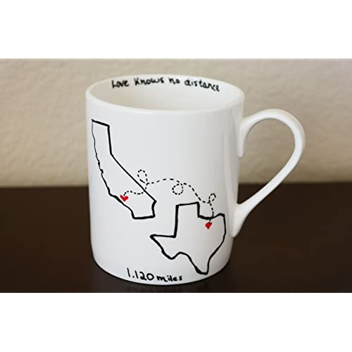 Best Friends State Coffee Mug Gift For Friend Mothers