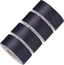 Mini Gaffer Tape Rolls by GafferPower 1 inch x 8yards - Pack of 4 Black, Made in The USA, Heavy Duty Gaffer's Tape, Strong Tough Compact Lightweight, Multipurpose Better Than Duct Tape