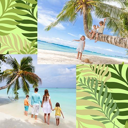 Colagem de fotos de palmeiras
