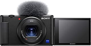 Sony Digital Vlog Camera ZV-1 Only (Compact, Video Eye AF, Flip Screen, in-Built Microphone, 4K Vlogging Camera and Conten...