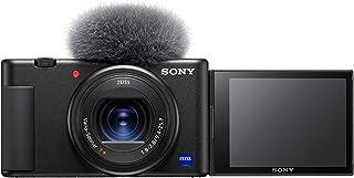 Sony ZV1BDI.EU - Cámara vlogging (Eye AF con Seguimiento a Tiempo Real, detección de Fases, prioridad a rostros en Auto Ex...