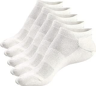 Mens Low Cut Ankle Socks Non-Slip Fresh Mesh Top Short Ventilation Cotton Socks