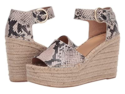 Marc Fisher LTD Alida Espadrille Wedge (Black Multi) Women