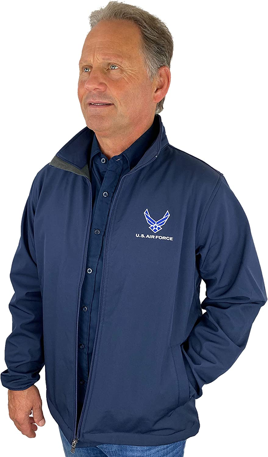 US Air Force Full Zip Jacket Made In USA