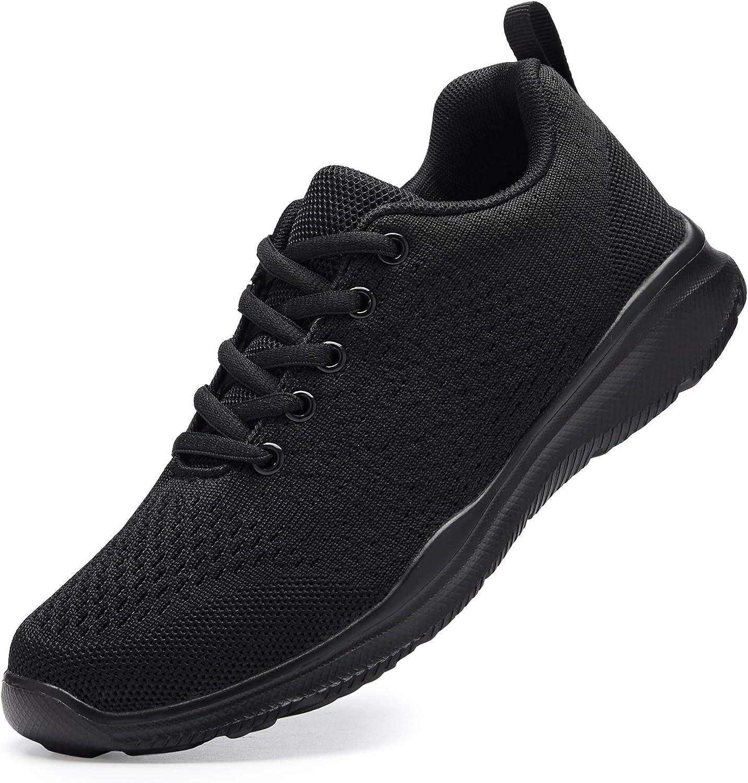 Women's Running Shoes Lightweight Non Slip Breathable Mesh Sneak